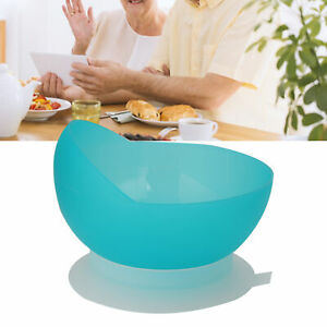 Stroke Hemiplegic Elderly Bowl Spill-Proof Bowl with Suction Cup Auxiliary
