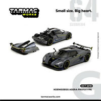 TW Tarmac Works 1:64 Koenigsegg AGERA PROTOTYPE Diecast Car Model NEW IN BOX