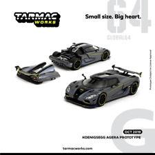 TW Tarmac Works 1:64 Koenigsegg AGERA PROTOTYPE Diecast Car Model NEW IN BOX