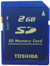 10PCS Toshiba 2GB 2G SD Memory Card Standard Secure Digital Card