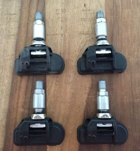 4 Mercedes Reifendrucksensoren RDKS 433 MHz A0009050030 W205 W246 W212 W207 A190