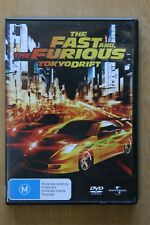 The Fast And The Furious - Tokyo Drift (DVD, 2006)      Preowned (D207)