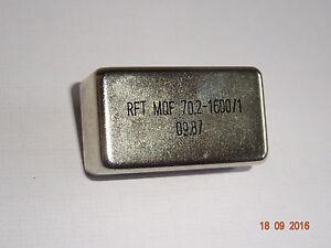 Quarzfilter MQF 70,2MHz - 1600/1, RFT / FWB
