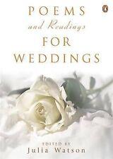 Poems and Readings for Weddings, Julia Watson