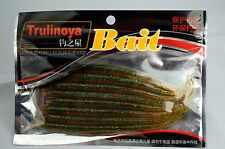 Soft Plastics Fishing Lures 15cm WORM GRUB  ACTION TAIL SURF FLATHEAD SNAPPER