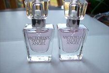 VICTORIA'S SECRET  VICTORIA'S SECRET ANGEL  PARFUM SPRAY X2  .25oz ea NEW