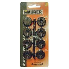 Gommini Sottosedia Piatti con Viti colore Nero 2 confezioni da 8Pz  Maurer