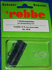 vintage ROBBE 4018 porte FUSIBLE 10A sicherungshalter FUSE rc parts R/C