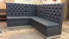 Restaurant, Cafe, Pub, Buttons back booth seating, banquette, upholstered sofa