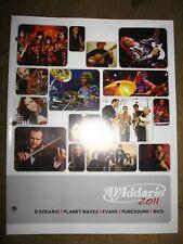 D'Addario 2011 catalog
