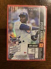 2002 Mlb Showdown Sammy Sosa Foil Card Super Season!