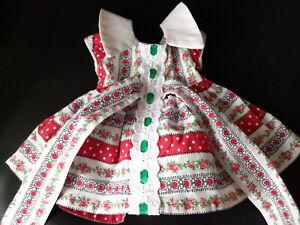 Robe pour poupée, modèle de Modes et Travaux juin 1960