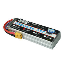HRB 3000Mah 14.8V 4S 35C 70C LiPo Battery For RC Airplane Helicopter Car AKKU