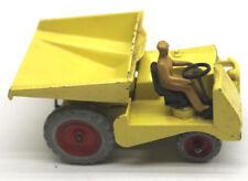 Vintage Dinky Toys 962 Muir Hill Dumper Truck Die Cast Metal + Orig Box Top