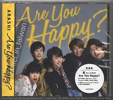 Arashi: Are you happy? (2016) TAIWAN CD & 36p BOOKLET & BONUS TRACK SEALED