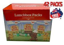 Arnotts Tiny Teddy 42 Variety Pack Biscuits 25g Choc Chip Chocolate Honey Bulk