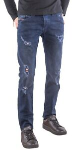 Diesel Men`s Jeans Size 31 BELTHER Regular Slim-Tapered W31 L30 Made In Italy