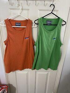 Two Mens Superdry Vest Tops Size L