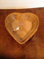 Longaberger Divided Heart Basket