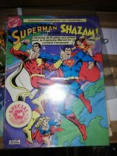 Superman contre Shazam SAGÉDITION collection de l'avenir rare vintage