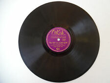 "OKEH 78 RPM 10"" This Love of Mine 6320 I Don't Want to Set World on Fire 199-9E"