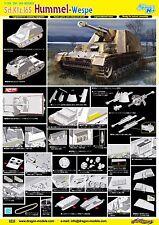 1/35 Dragon Sd.Kfz.165 Hummel-Wespe 6535