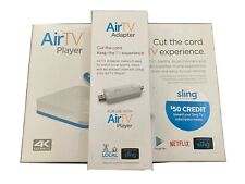 NEW AirTV 4K Streaming Media Player WITH OTA Adapter and $50 Sling CREDIT!