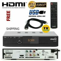 HDTV Digital TV Converter Box DVR Live Recorder PVR Tuner HDMI 1080p Cable Less