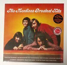 "The Monkees ""Greatest Hits"" LP LTD Edition Orange Colored Vinyl Sealed!"