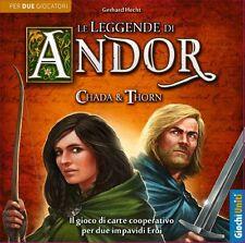 Le Leggende di Andor: Chada & Thorn, Espansione, Nuova by Giochi Uniti, Italiano