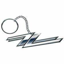 ZZ Top Twin Zees Logo Schlüsselanhänger Keychain Official Merchandise - NEU