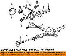 FORD OEM Rear Axle-Differential Pumpkin Cover Gasket TA32