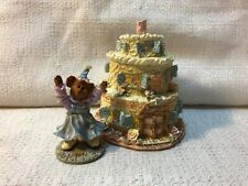 Boyds Bear Route 33 1/3 Villages Baileys Frosted Cottage Figurine Village 19900