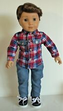 Shirt Jeans Pants For 18 in American Girl Logan Boy Doll Clothes