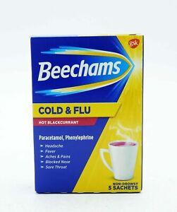 Beechams Hot Lemon & Honey and Hot Blackcurrant Variation