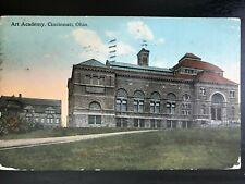 Vintage Postcard>1914>Art Academy>Cincinnati>Ohio
