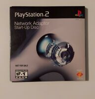 Sony PlayStation 2 Network Adapter Start Up Disc complete