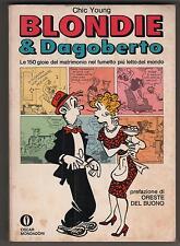 chic young BLONDIE & DAGOBERTO oscar fumetti mondadori 235 E 1a edizione 1969
