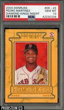 2004 Donruss Diamond Kings Insert Pedro Martinez Red Sox PSA 10 GEM MINT POP 1