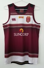 XXXX QLD Maroons Mens Size SMALL Rugby League Singlet Top Licenced NRL Product