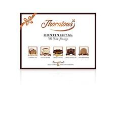 Thorntons Continental Chocolate Gift Selection Box (284g) - Pack of 2