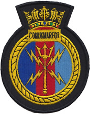 Royal Navy Comukmarfor Embroidered Patch ** LAST FEW **