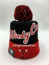New Era Chicago Bulls Windy City Beanie Knit Hat Size: One Size Fits Most