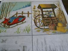 TRI CHEM SEASONAL COUNTRY SCENES  ARTS AND CRAFTS