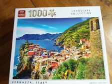 """1000 piece jigsaw puzzles """"Vernazza , Italy"""" Ex / Condition"""