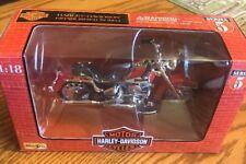 Maisto 1:18 HARLEY-DAVIDSON 1986 Heritage Softail Evolution Diecast Motorcycle