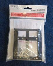 DIGITUS DA-70431 NUOVO SIGILLATO DUAL 2.5 HDD/SSD Kit di montaggio interno