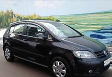 Vw Golf Plus Wind Rain Deflectors 4 pcs 2004-UP