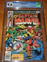 CAPTAIN MARVEL #50 - CGC 9.6 NM+ (1st App of Dr Minerva ; White Pgs ; Ms Marvel)