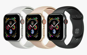 Apple Watch Series 4 40mm LTE Smart Watch Aluminum Case With Sport Band